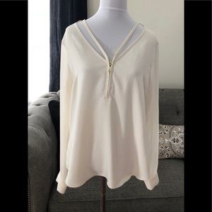 Guess Cream Blouse